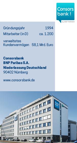 Erfahrungen mit ISO 9001 - Consorsbank