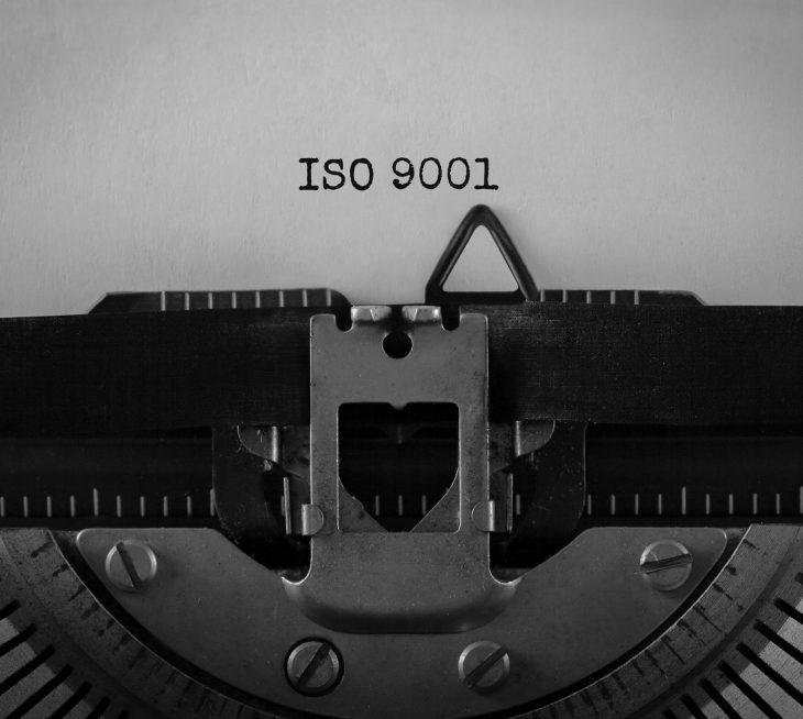 Historie ISO 9001 DQS