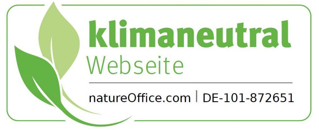 Klimaneutrale Webseite