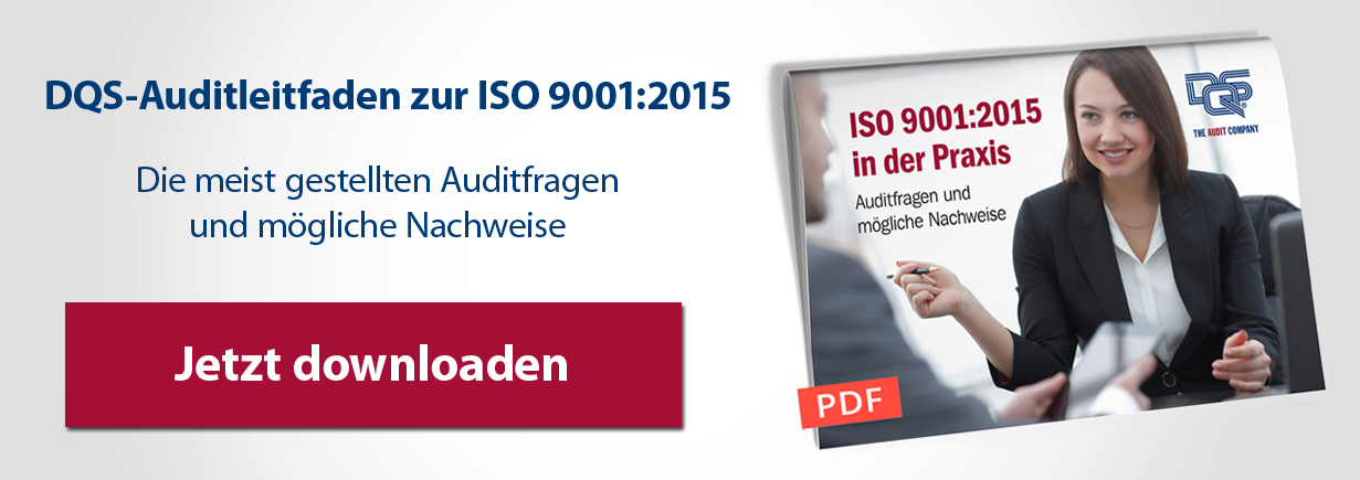 Audit-Checkliste ISO 9001